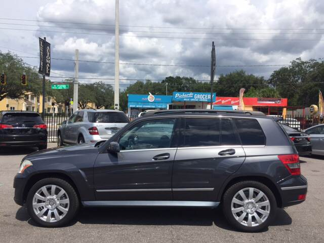 2010 Mercedes-Benz GLK for sale at LUXURY AUTO MALL in Tampa FL