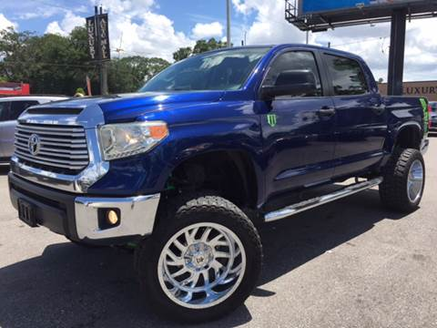 2015 Toyota Tundra for sale at LUXURY AUTO MALL in Tampa FL