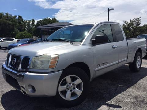 2006 Nissan Titan for sale at LUXURY AUTO MALL in Tampa FL