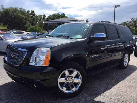 2009 GMC Yukon XL for sale at LUXURY AUTO MALL in Tampa FL
