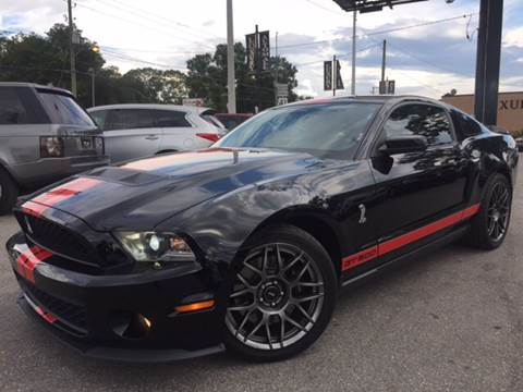 2011 Ford Shelby GT500 for sale at LUXURY AUTO MALL in Tampa FL