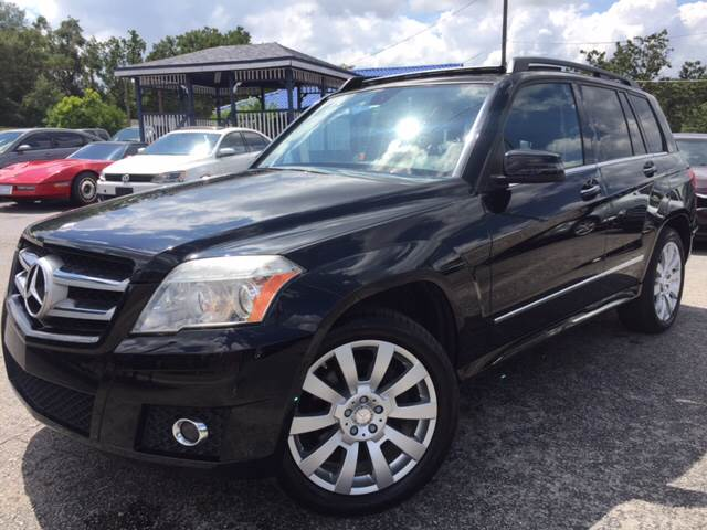 2012 Mercedes-Benz GLK for sale at LUXURY AUTO MALL in Tampa FL