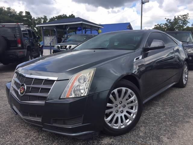 2011 Cadillac CTS for sale at LUXURY AUTO MALL in Tampa FL