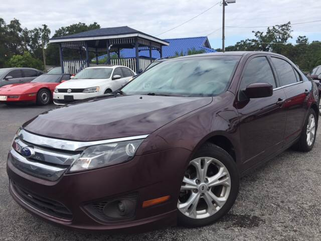 2012 Ford Fusion for sale at LUXURY AUTO MALL in Tampa FL