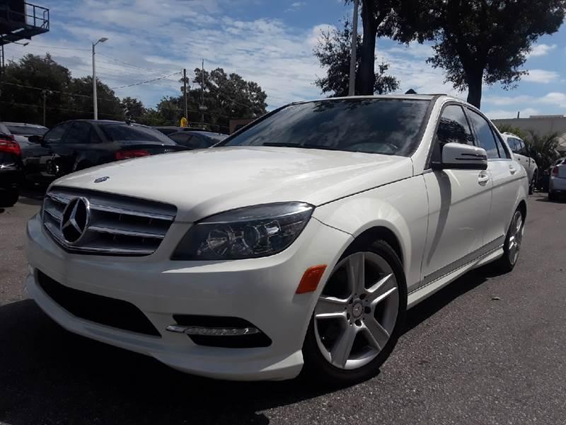 MercedesBenz CClass C Sport In Tampa FL LUXURY AUTO MALL - Mercedes benz auto mall
