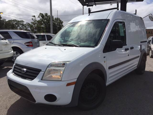 2012 Ford Transit Connect for sale at LUXURY AUTO MALL in Tampa FL