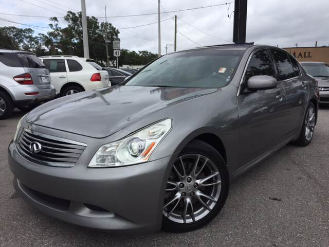 2007 Infiniti G35 for sale at LUXURY AUTO MALL in Tampa FL