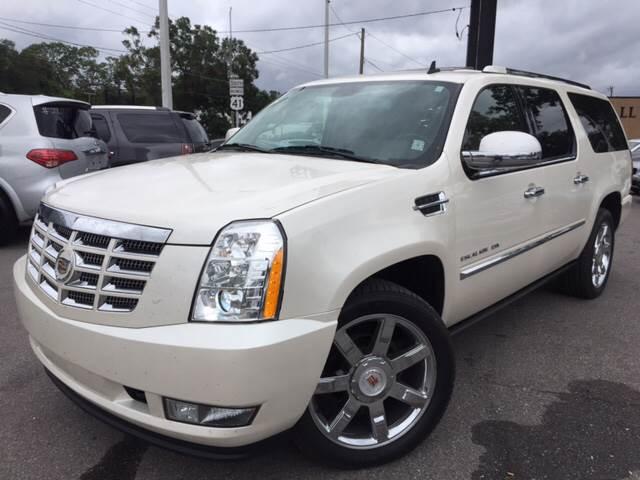 2012 Cadillac Escalade ESV for sale at LUXURY AUTO MALL in Tampa FL