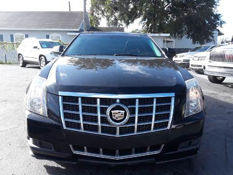 2012 Cadillac CTS for sale at LUXURY AUTO MALL in Tampa FL