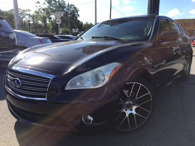 2011 Infiniti M37 for sale at LUXURY AUTO MALL in Tampa FL