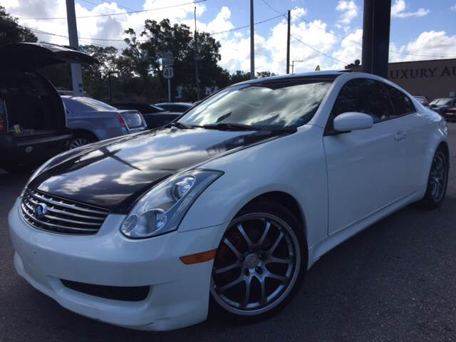 2006 Infiniti G35 for sale at LUXURY AUTO MALL in Tampa FL