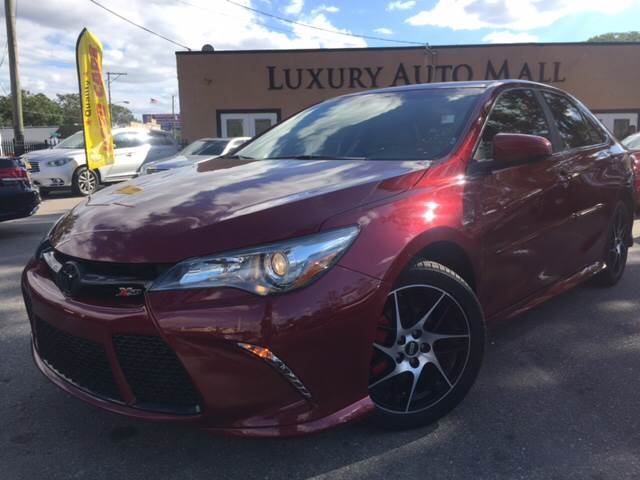 2016 Toyota Camry for sale at LUXURY AUTO MALL in Tampa FL