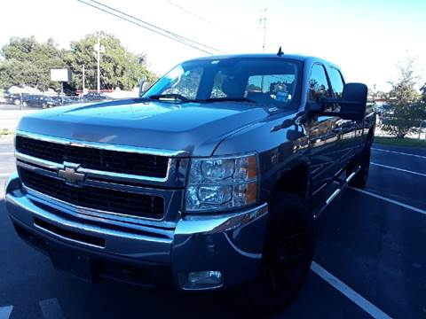 2008 Chevrolet Silverado 2500HD for sale at LUXURY AUTO MALL in Tampa FL
