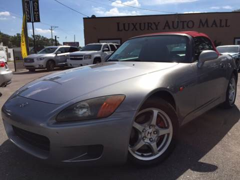 2000 Honda S2000 for sale at LUXURY AUTO MALL in Tampa FL
