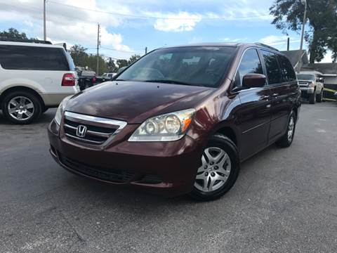 2007 Honda Odyssey for sale at LUXURY AUTO MALL in Tampa FL
