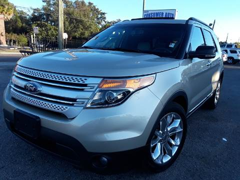 2011 Ford Explorer for sale at LUXURY AUTO MALL in Tampa FL