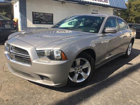 2014 Dodge Charger for sale at LUXURY AUTO MALL in Tampa FL