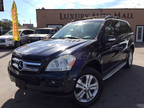 2008 Mercedes-Benz GL-Class for sale at LUXURY AUTO MALL in Tampa FL