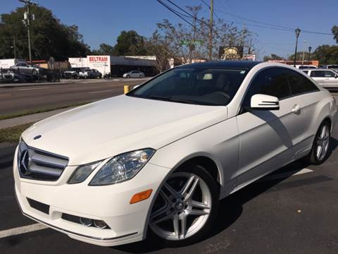 2011 Mercedes-Benz E-Class for sale at LUXURY AUTO MALL in Tampa FL