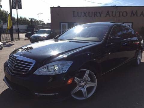 2010 Mercedes-Benz S-Class for sale at LUXURY AUTO MALL in Tampa FL