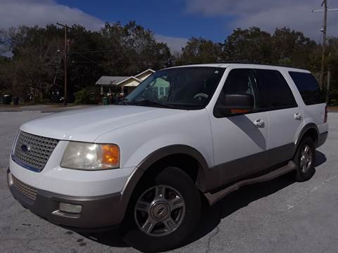 2003 Ford Expedition for sale at LUXURY AUTO MALL in Tampa FL