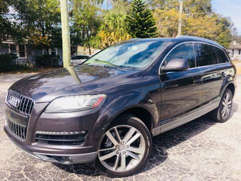 2011 Audi Q7 for sale at LUXURY AUTO MALL in Tampa FL