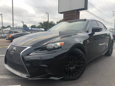 2014 Lexus IS 250 for sale at LUXURY AUTO MALL in Tampa FL