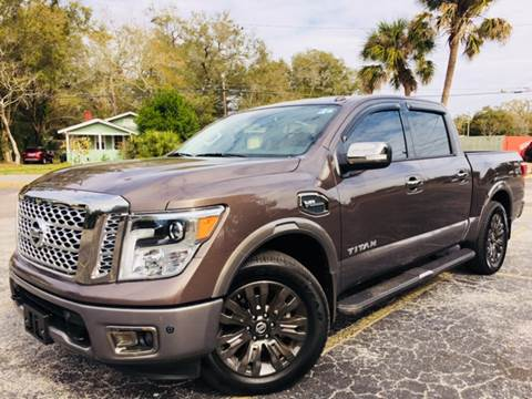 2017 Nissan Titan for sale at LUXURY AUTO MALL in Tampa FL