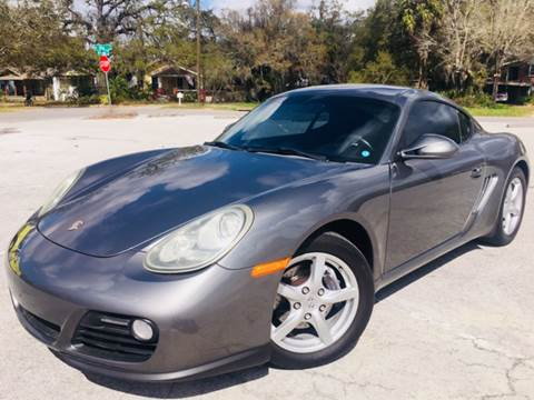 2009 Porsche Cayman for sale at LUXURY AUTO MALL in Tampa FL