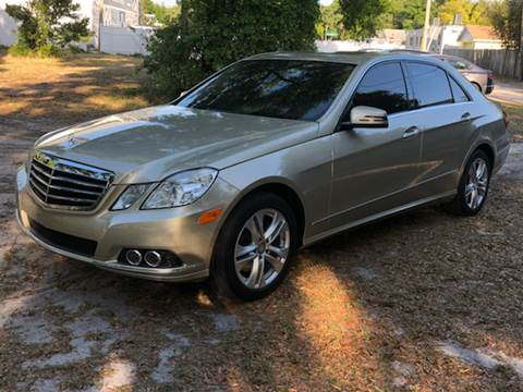 2010 Mercedes-Benz E-Class for sale at LUXURY AUTO MALL in Tampa FL