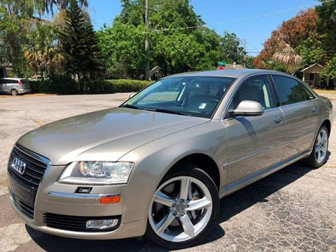 2009 Audi A8 L for sale at LUXURY AUTO MALL in Tampa FL