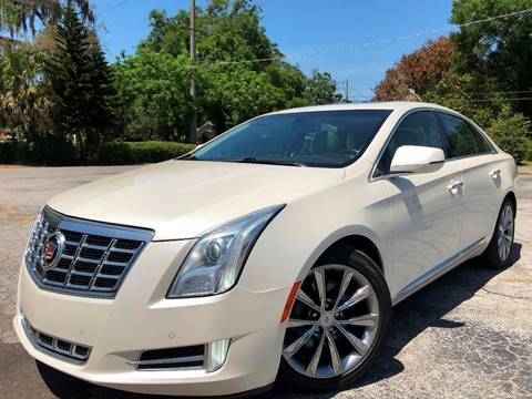 2013 Cadillac XTS for sale at LUXURY AUTO MALL in Tampa FL