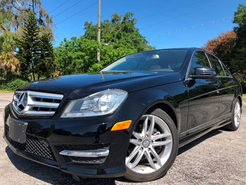 2012 Mercedes-Benz C-Class for sale at LUXURY AUTO MALL in Tampa FL