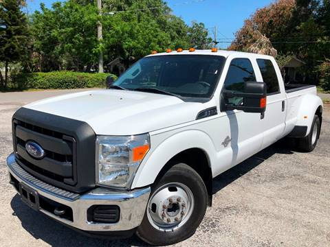 2014 Ford F-350 Super Duty for sale at LUXURY AUTO MALL in Tampa FL