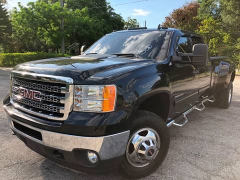 2012 GMC Sierra 3500HD for sale at LUXURY AUTO MALL in Tampa FL