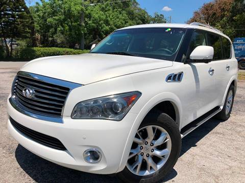 2013 Infiniti QX56 for sale at LUXURY AUTO MALL in Tampa FL