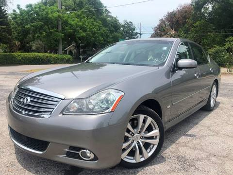 2008 Infiniti M35 for sale at LUXURY AUTO MALL in Tampa FL