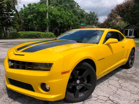 2010 Chevrolet Camaro for sale at LUXURY AUTO MALL in Tampa FL