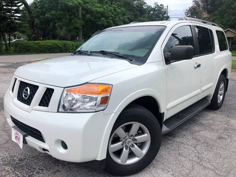 2015 Nissan Armada for sale at LUXURY AUTO MALL in Tampa FL