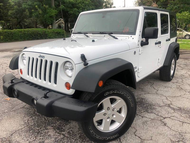 2013 jeep wrangler unlimited sport in tampa fl luxury auto mall. Black Bedroom Furniture Sets. Home Design Ideas