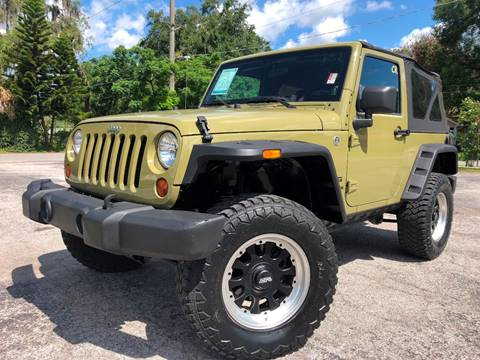 2013 Jeep Wrangler for sale at LUXURY AUTO MALL in Tampa FL