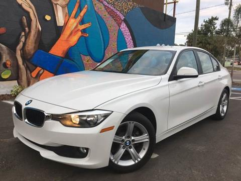 2014 BMW 3 Series for sale at LUXURY AUTO MALL in Tampa FL