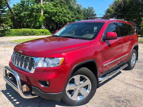 2012 Jeep Grand Cherokee for sale at LUXURY AUTO MALL in Tampa FL