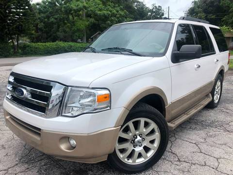 2011 Ford Expedition for sale at LUXURY AUTO MALL in Tampa FL