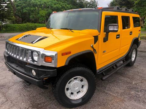 2007 HUMMER H2 for sale at LUXURY AUTO MALL in Tampa FL