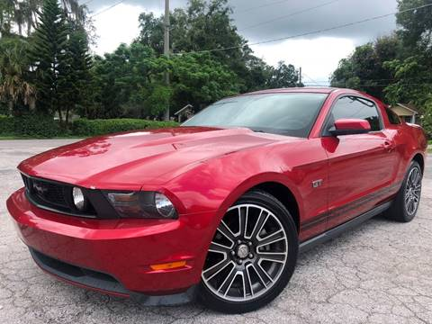 2010 Ford Mustang for sale at LUXURY AUTO MALL in Tampa FL
