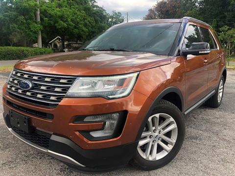 2017 Ford Explorer for sale at LUXURY AUTO MALL in Tampa FL