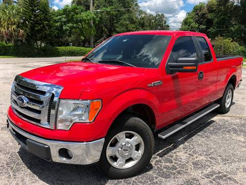 2012 Ford F-150 for sale at LUXURY AUTO MALL in Tampa FL