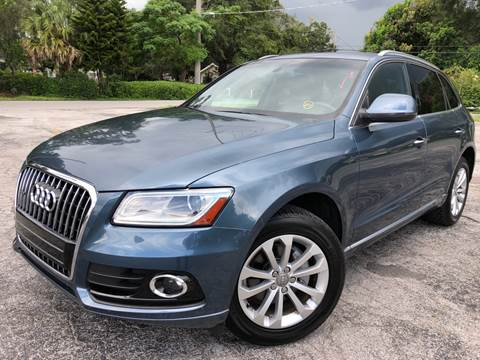 2015 Audi Q5 for sale at LUXURY AUTO MALL in Tampa FL
