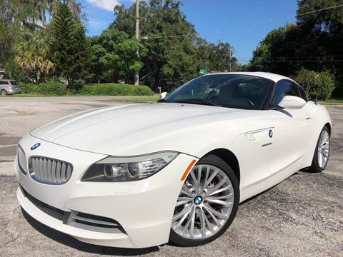 2011 BMW Z4 for sale at LUXURY AUTO MALL in Tampa FL